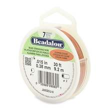 Beadalon beadalon beading wire 7 strand 0 38mm 015in copper colour 9 2m 30ft p2598 11492 medium
